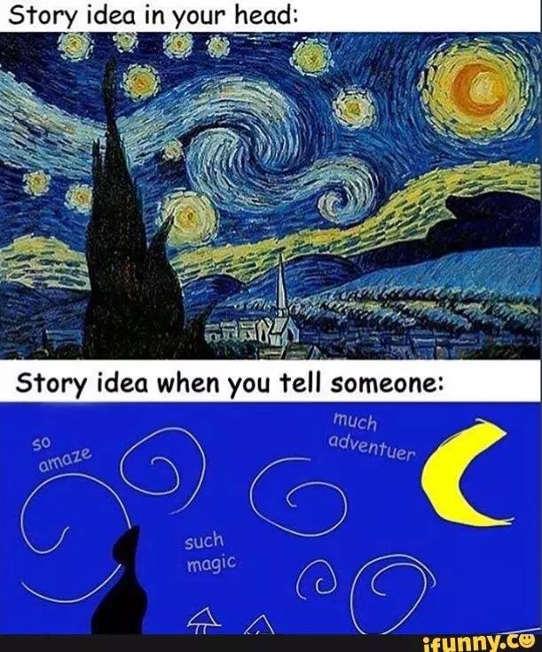 story idea in your head